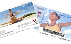 Nouveau : chèques vacances et chèques sport !